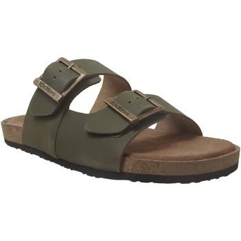 Zapatos Hombre Zuecos (Mules) Kickers Orano Cuero caqui