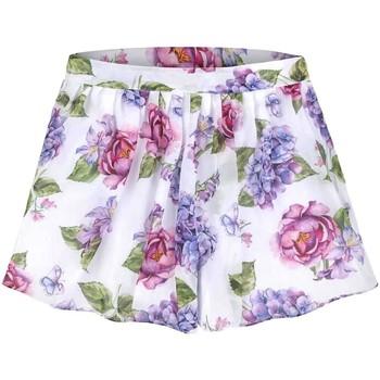 textil Niña Shorts / Bermudas Mayoral Falda pantalon gasa estampada Multicolor