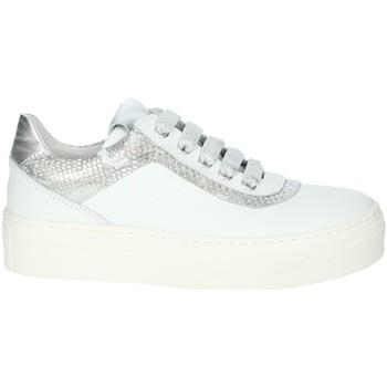 Zapatos Niña Zapatillas bajas Le Petit Bijou 6430LPB Blanco/Argent