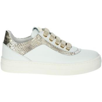 Zapatos Niña Zapatillas bajas Le Petit Bijou 6430LPB Blanco/Oro