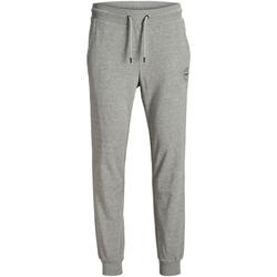 textil Hombre Pantalones de chándal Jack & Jones 12165322 JJIGORDON JJSHARK GREY MELANGE Gris claro