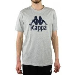 textil Hombre Camisetas manga corta Kappa Caspar gris