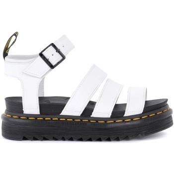 Zapatos Mujer Sandalias Dr Martens Sandalia Blaire blanca Blanco