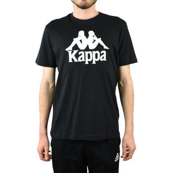 textil Hombre Camisetas manga corta Kappa Caspar T-Shirt Noir