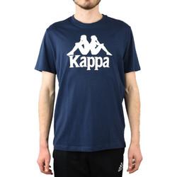 textil Hombre Tops y Camisetas Kappa Caspar T-Shirt 303910-821 Bleu marine