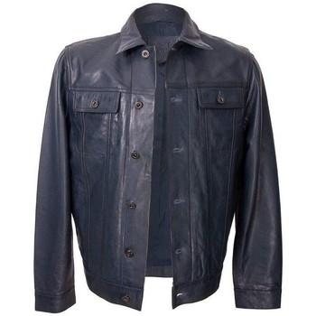textil Hombre Chaquetas de cuero / Polipiel Zerimar YIBUTI Azul