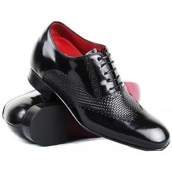 Zapatos Hombre Richelieu Zerimar KABUL Negro