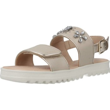 Zapatos Niña Sandalias Geox J SANDAL CORALIE GIR Marron