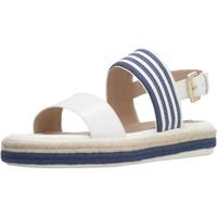 Zapatos Mujer Sandalias Geox D SANDAL LEELU' E Blanco
