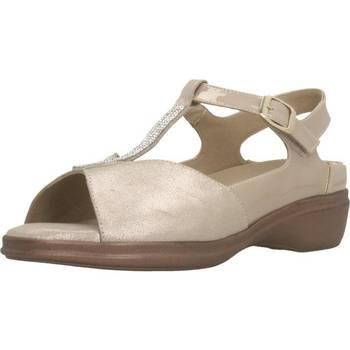Zapatos Mujer Sandalias Piesanto 200407 Beige