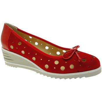 Zapatos Mujer Bailarinas-manoletinas Donna Soft DOSODS0770ro rosso