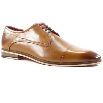 Zapatos Hombre Derbie Parodi Shoes BARTOLOMEO Tan