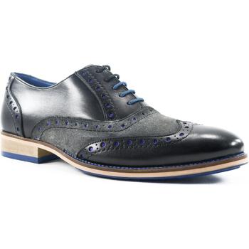 Zapatos Hombre Derbie Parodi Shoes NAPOLEONE Negro