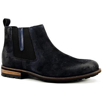 Zapatos Hombre Botas de caña baja Parodi Shoes PAUL Azul