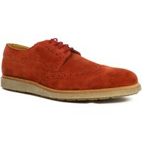 Zapatos Hombre Derbie Parodi Shoes BORIS Naranja