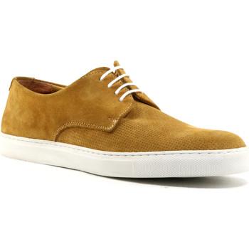 Zapatos Hombre Derbie Parodi Shoes ULISSE Camello