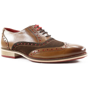 Zapatos Hombre Richelieu Parodi Shoes NAPOLEONE Tan