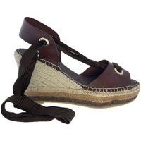 Zapatos Mujer Sandalias Vidorreta Cuña  15200 Marrón Marrón