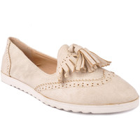 Zapatos Mujer Mocasín Suncolor SUBO6605BE Beige