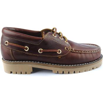 Zapatos Hombre Zapatos náuticos Riverty RIOS1000CU Marrón