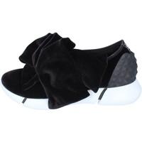 Zapatos Mujer Slip on Elena Iachi slip on terciopelo negro
