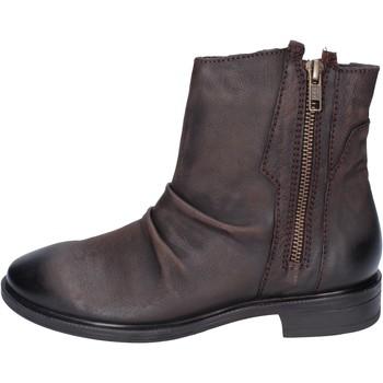 Zapatos Mujer Botines Inuovo botines cuero marrón