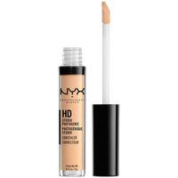 Belleza Mujer Antiarrugas & correctores Nyx Hd Studio Photogenic Concealer beige 3 Gr 3 g