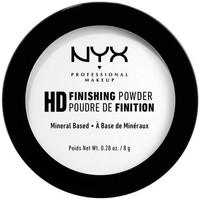 Belleza Mujer Colorete & polvos Nyx Hd Finishing Powder Mineral Based translucent 8 Gr