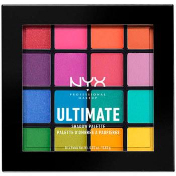 Belleza Mujer Paleta de sombras de ojos Nyx Ultimate Shadow Palette brights 16x0,83 Gr