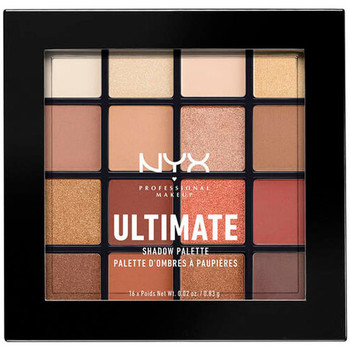 Belleza Mujer Paleta de sombras de ojos Nyx Ultimate Shadow Palette warm Neutrals 16x0,83 Gr 16 x 0.83 g