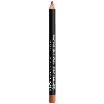Belleza Mujer Lápiz de labios Nyx Suede Matte Lip Liner soft-spoken 1 g