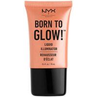 Belleza Mujer Iluminador  Nyx Born To Glow! Liquid Illuminator gleam