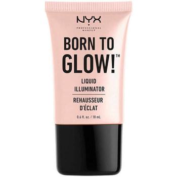 Belleza Mujer Iluminador  Nyx Born To Glow! Liquid Illuminator sunbeam