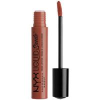 Belleza Mujer Pintalabios Nyx Liquid Suede Cream Lipstick sandstorm