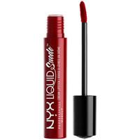 Belleza Mujer Pintalabios Nyx Liquid Suede Cream Lipstick cherry Skies