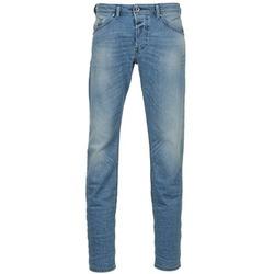 textil Hombre vaqueros rectos Diesel BELHER Azul / Claro