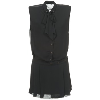 textil Mujer vestidos cortos Diesel D-NEDORA-A Negro