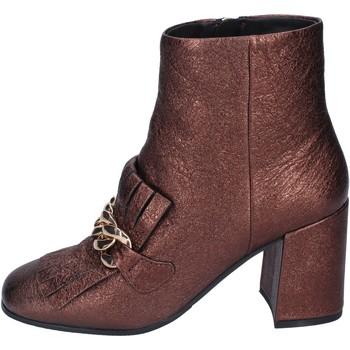 Zapatos Mujer Botines Elvio Zanon botines cuero marrón