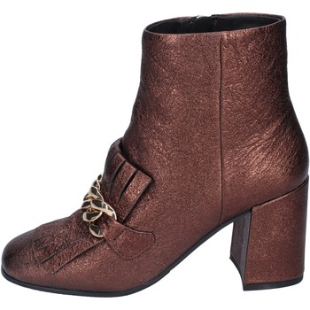 Zapatos Mujer Botines Elvio Zanon BM15 marrón