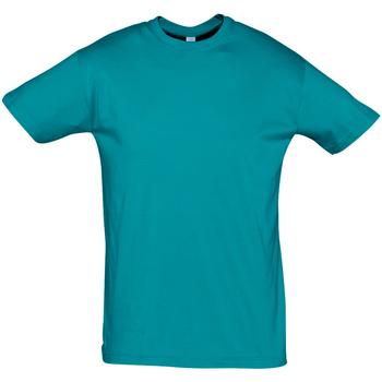 textil Hombre Camisetas manga corta Sols REGENT COLORS MEN Azul