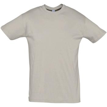 textil Hombre Camisetas manga corta Sols REGENT COLORS MEN Gris