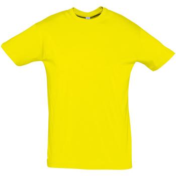 textil Hombre Camisetas manga corta Sols REGENT COLORS MEN Amarillo