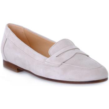 Zapatos Mujer Mocasín Frau CAMOSCIO CORDA Beige