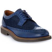 Zapatos Hombre Derbie Frau SIENA JEANS BLU Blu