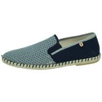 Zapatos Hombre Slip on Verbenas Zapatilla tom Azul