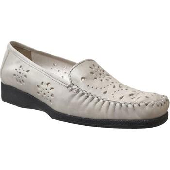 Zapatos Mujer Mocasín Marco JOSEPHINE Cuero beige