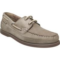 Zapatos Hombre Zapatos náuticos Mephisto BOATING Nobuck gris pardo