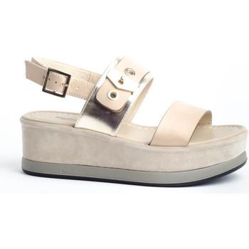 Zapatos Mujer Sandalias Nero Giardini E0 12470 D Beige