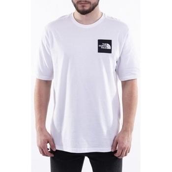 textil Hombre camisetas manga corta The North Face Mos Tee blanco