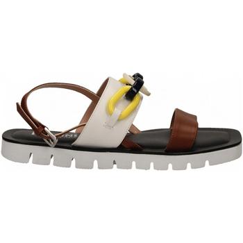 Zapatos Mujer Sandalias Pollini Silver POLLINI ALESS20 bianco-cuoio